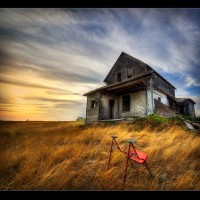 Abandoned in Saskatchewan