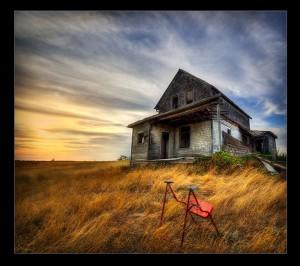 Abandoned in Saskatchwean